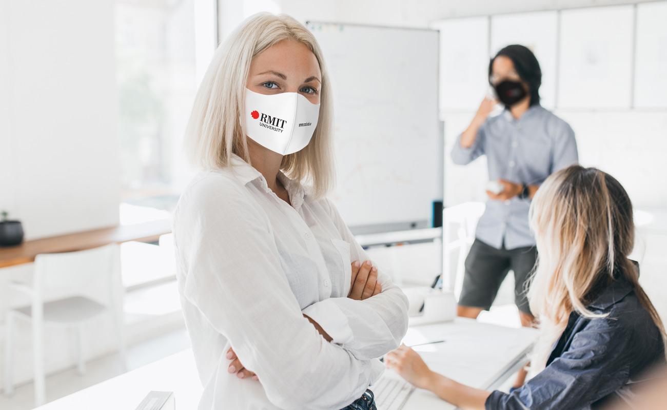 Neo - Schutzmasken Bedrucken Lassen