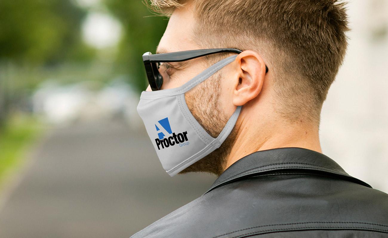 Ultra - Mundschutzmasken mit Logo